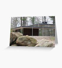 Mid Century Modern -Lee House 2 Greeting Card