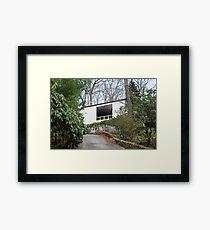 Mid Century Modern - Beaven Mills House Framed Print