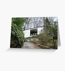 Mid Century Modern - Beaven Mills House Greeting Card