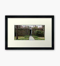 Mid Century Modern - Becker House Framed Print