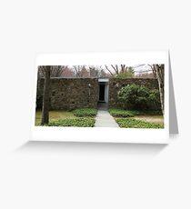 Mid Century Modern - Becker House Greeting Card