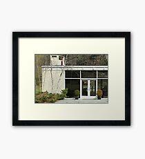 Mid Century Modern - Ball House Framed Print