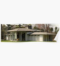 Mid Century Modern - Irwin Pool House Poster