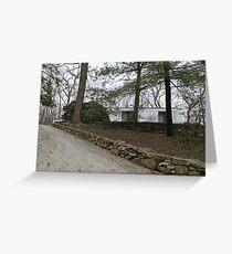 Mid Century Modern - Campbell House / Goldberg House Greeting Card