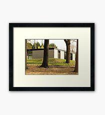Mid Century Modern - Hodgson House Framed Print