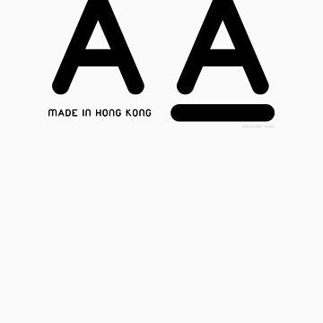 AA Hong Kong by alexandersuen