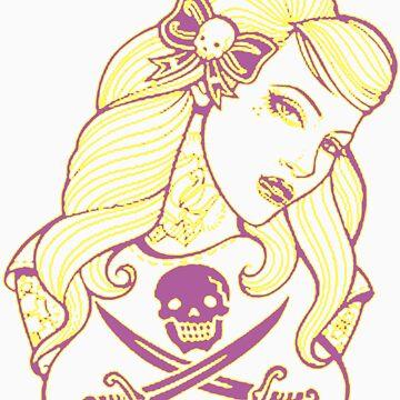 SeXxXy Tattoo 2 tone by princessvenom