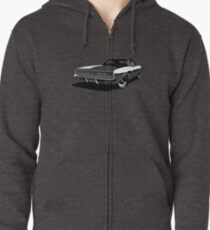 Dodge Charger Zipped Hoodie