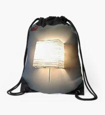 The Lamp On The Wall Drawstring Bag