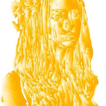 Lana Del Rey Orange Edit by Mellyrose