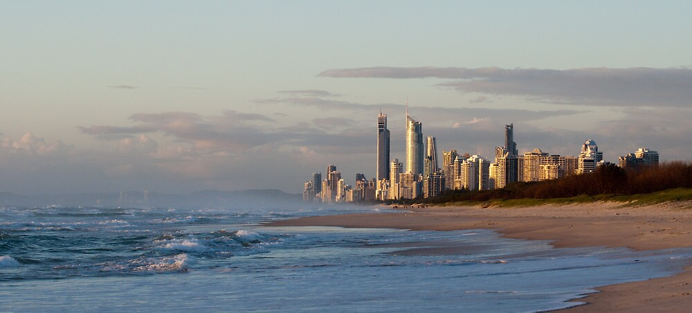 Surfers Paradise, Australia by Dean Bailey