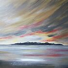 Arran Sunset by MagsWilliamson