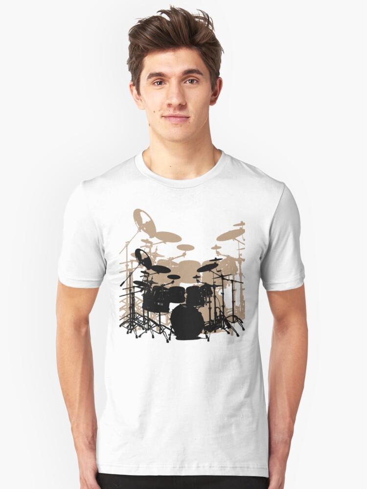 Drums Unisex T-Shirt Front