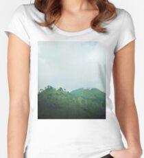 Vietnam ~ Sapa's Hills Women's Fitted Scoop T-Shirt