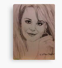 Natalie, Hoops Canvas Print