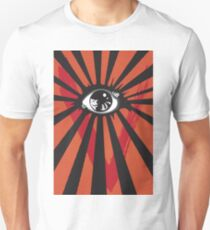 VENDETTA alternative movie poster eyeball print T-Shirt