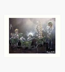 In Search Of Decent Moral Spine Art Print