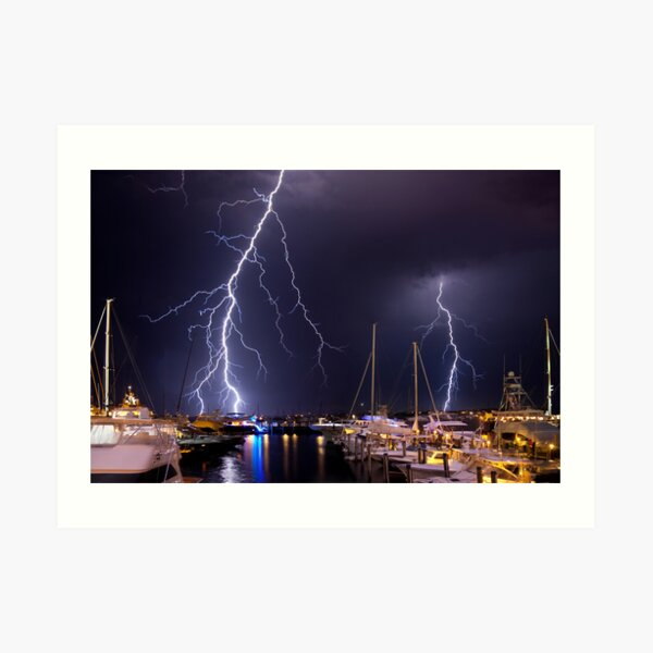 Storm over Nantucket Art Print
