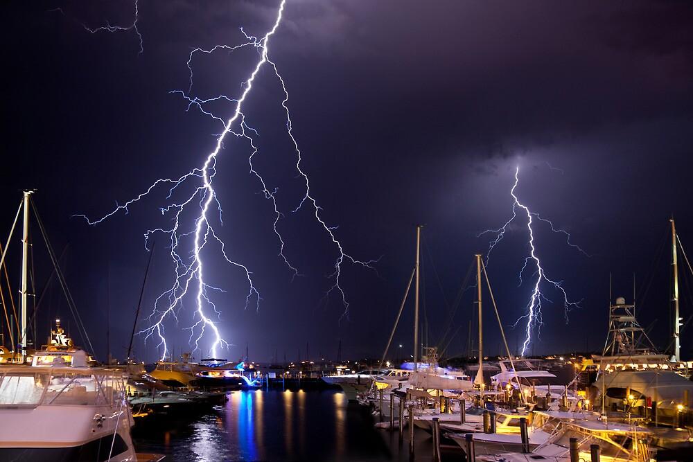 Storm over Nantucket by Rachael Talibart