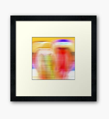 Like a dream fading away Framed Print
