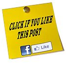 Click if you Like my post by Darren Stein