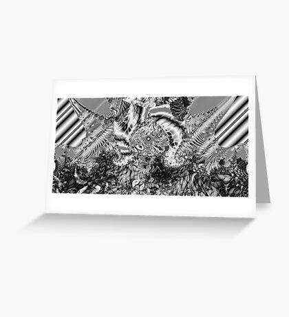 Sterling Black Greeting Card