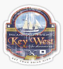 key west sail Sticker