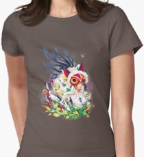 Princess Mononoke Women's Fitted T-Shirt