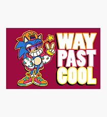 Way Past Cool, Dude! Photographic Print