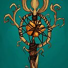 Bog's Staff (Color) by Amanda Zito