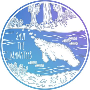 ¡Salva a los manatíes! de Chikagi