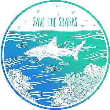 ¡Salva a los tiburones! de Chikagi