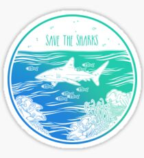 Save the Sharks! Sticker