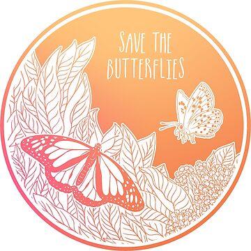 ¡Salva a las mariposas! de Chikagi