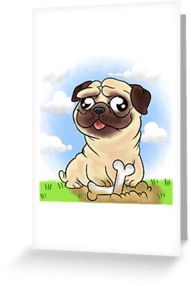 pug face by aninhat-t