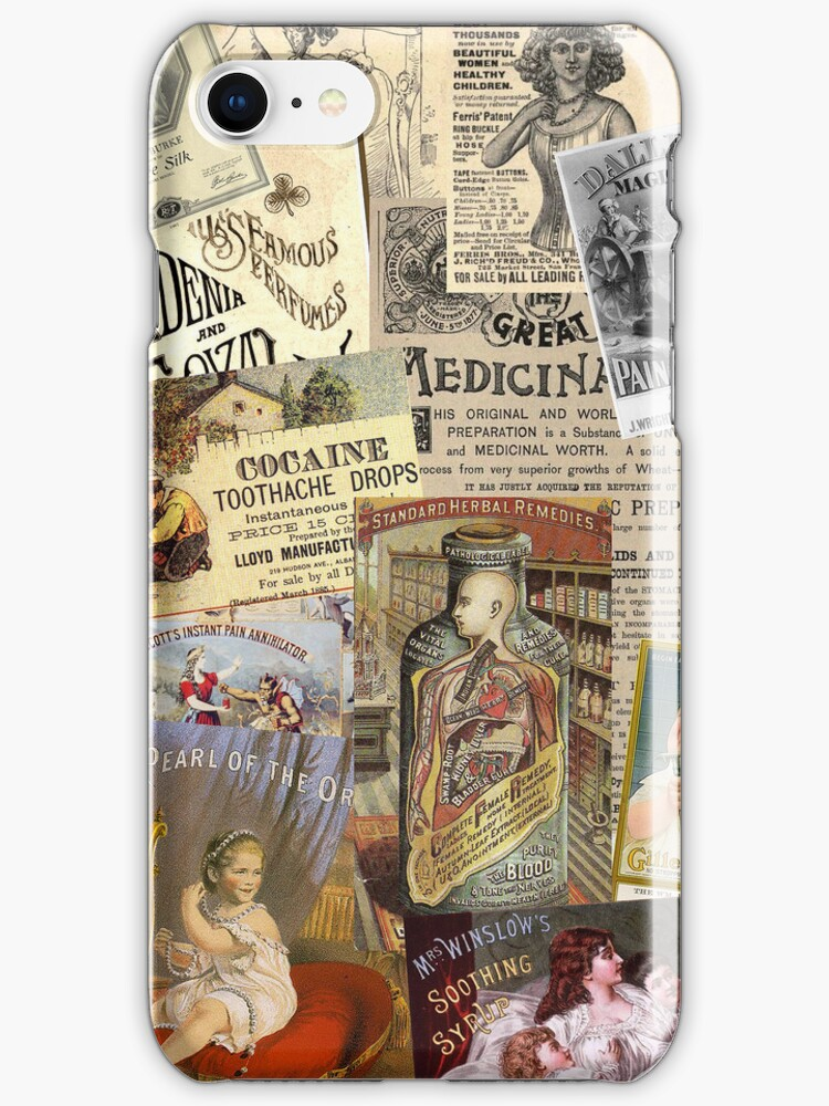 Vintage Adverts IPhone & Ipod Case by curiousfashion