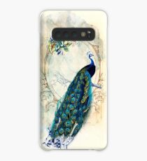 Vintage Peacock Case Case/Skin for Samsung Galaxy