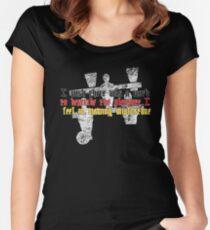 Schadenfreude Women's Fitted Scoop T-Shirt