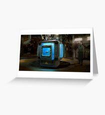 HENRi Brain Machine Greeting Card