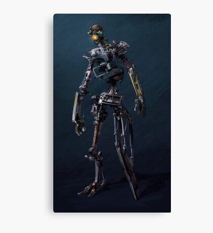 HENRi Robot Concept Canvas Print