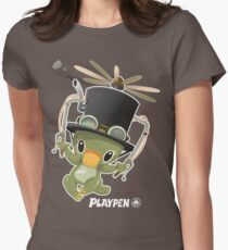 Playpen Platypus Inventor Women's Fitted T-Shirt