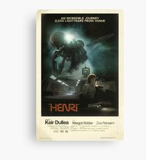 HENRi Poster Canvas Print
