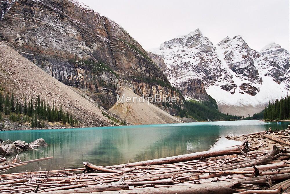 Moraine Lake by MendipBlue