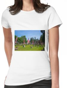 Memorial Rows Womens Fitted T-Shirt