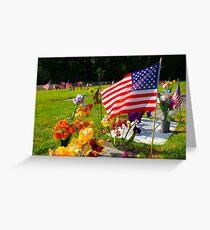 Memorials Greeting Card