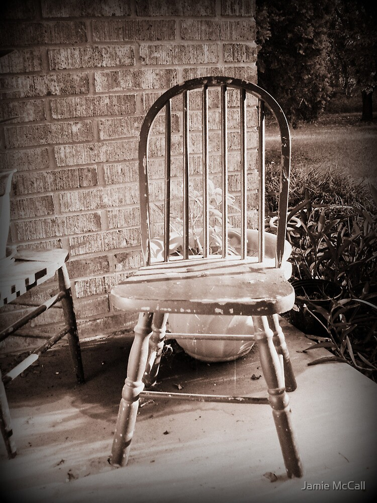 the old chair by Jamie McCall