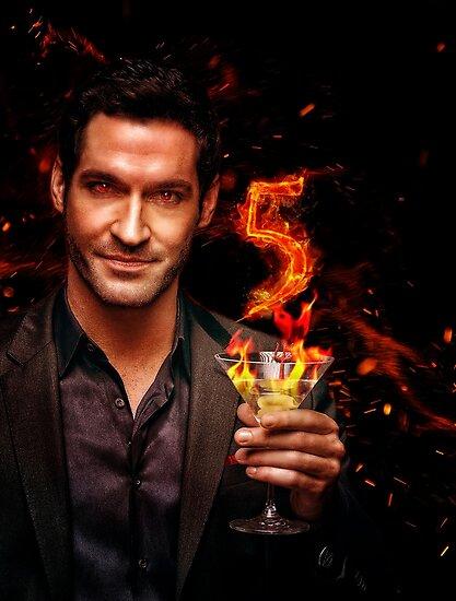 Lucifer Season 5 Poster Design Poster By Kristin1228 Redbubble