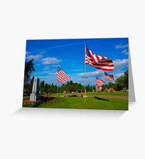 Patriot Blue Greeting Card