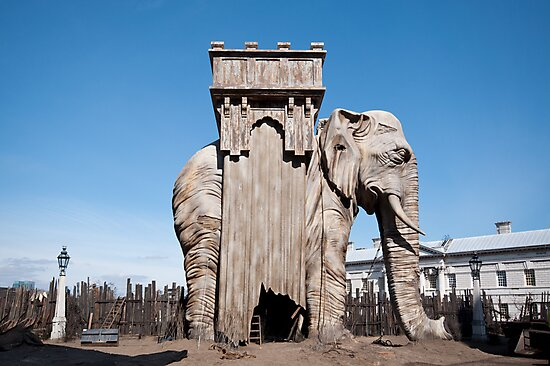 Elephant of the Bastille by KarenM