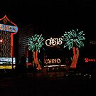 Las Vegas with Watercolor Effect by Frank Romeo